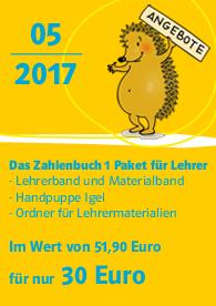 Zahlenbuch Blog-Angebot 5/2017