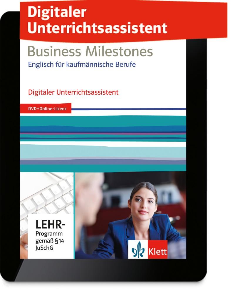 Ernst Klett Verlag Business Milestones Englisch Fur Kaufmannische Berufe Produktdetails