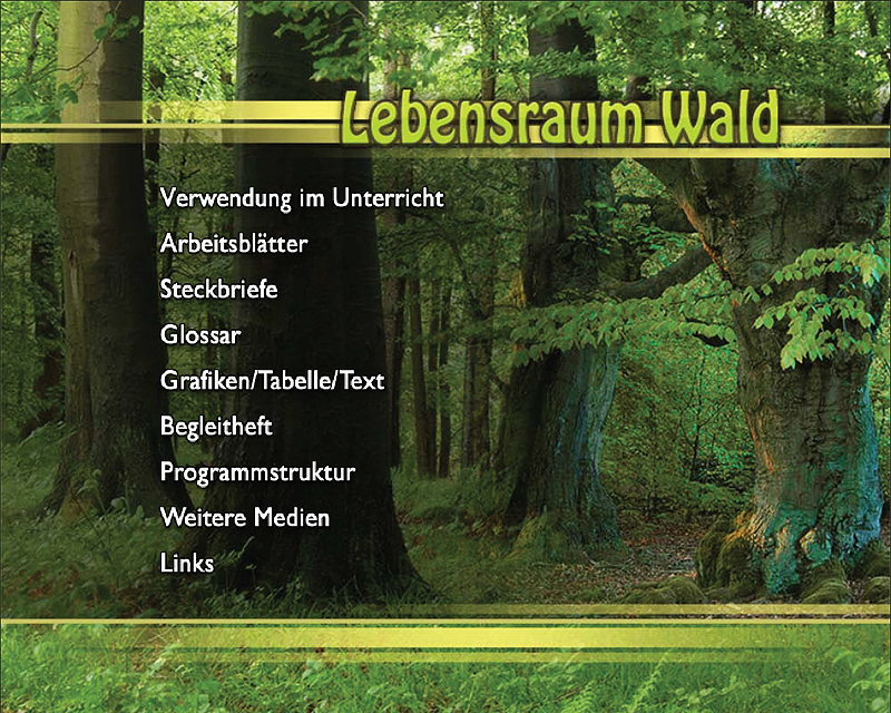 Ernst Klett Verlag - Lebensraum Wald Produktdetails