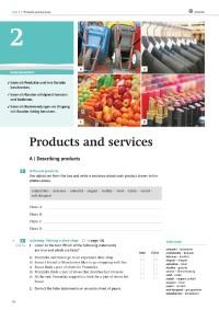 Probeseiten Retail Milestones, Unit 2