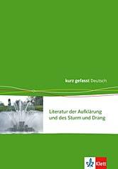 Literatur der Aufklärung und des Sturm und Drang