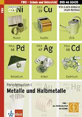 Periodensystem I: Metalle und Halbmetalle