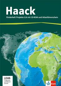Der Haack Weltatlas Projekte 5/6 Förderheft