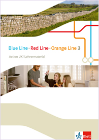 Blue Line - Red Line - Orange Line 3