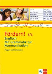 Fördern! 5/6 Englisch Mit Grammatik zu Kommunikation