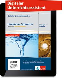 Lambacher Schweizer Mathematik Qualifikationsphase Leistungs- und Grundkurs