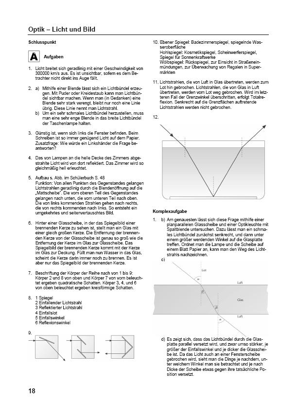 Ernst Klett Verlag - Prisma Physik 7/8 Niedersachsen Lehrerhinweise ...