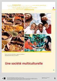 "Probeseiten Ausschnitt aus Modul 6 ""Une société multiculturelle"""