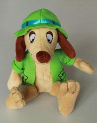 Puppe Hugo Hörnchen