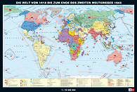 Die Welt von 1918 bis zum Ende des 2. Weltkrieges 1945