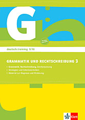 Grammatik und Rechtschreibung 3