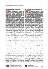 Deutsche Interessenpolitik in Afghanistan