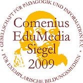 Comenius-EduMedia-Siegel 2009 /