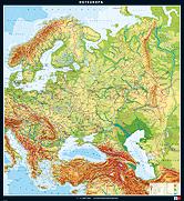 Osteuropa, physisch