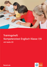 Trainingsheft Kompetenztest Englisch