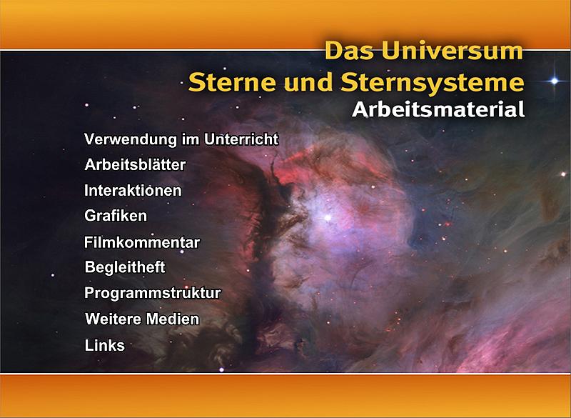Ernst Klett Verlag - Das Universum - Sterne und Sternsysteme ...