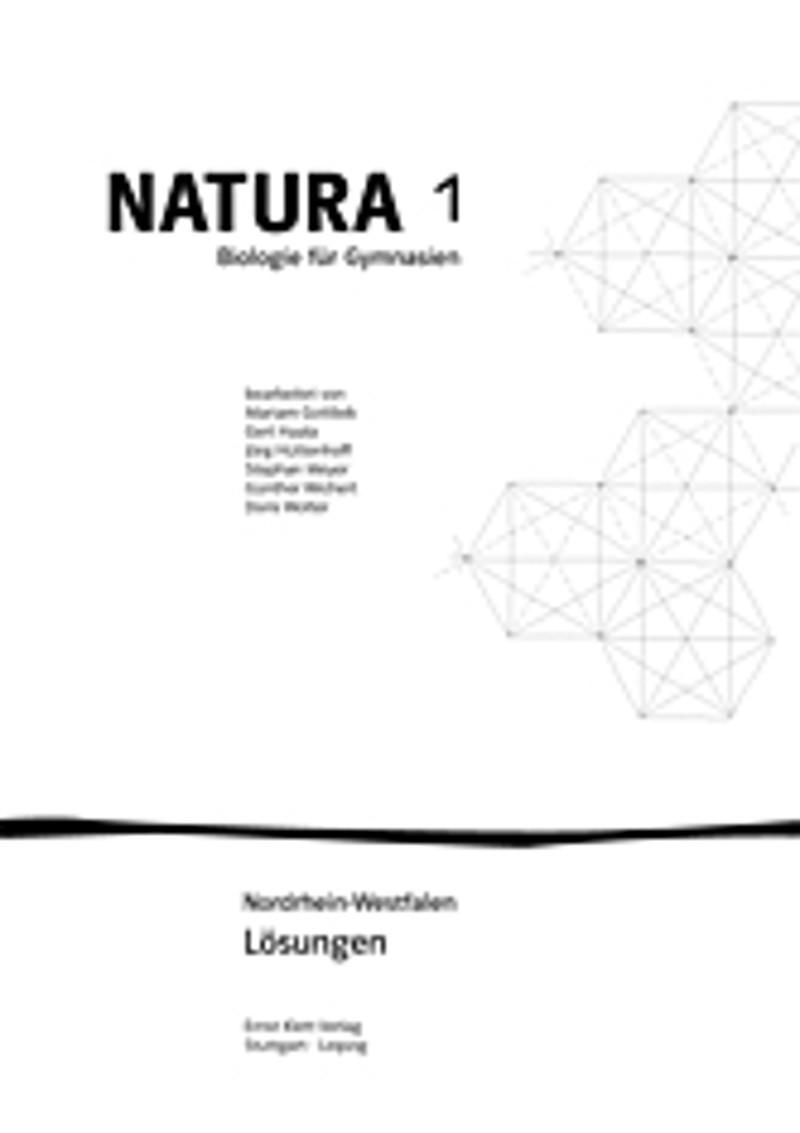 ernst klett verlag natura biologie 1 ausgabe nordrhein westfalen ab 2009 produktdetails. Black Bedroom Furniture Sets. Home Design Ideas