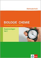 Methodenheft Protokoll und Experiment Biologie und Chemie