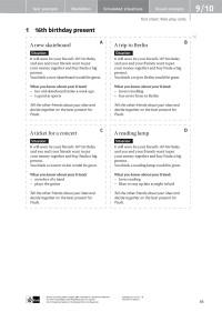 Probeseiten Speaking Tests Seite 83