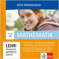 Klett Mathetrainer 10