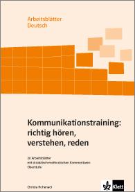 Ernst Klett Verlag - Kommunikationstraining: richtig hören ...