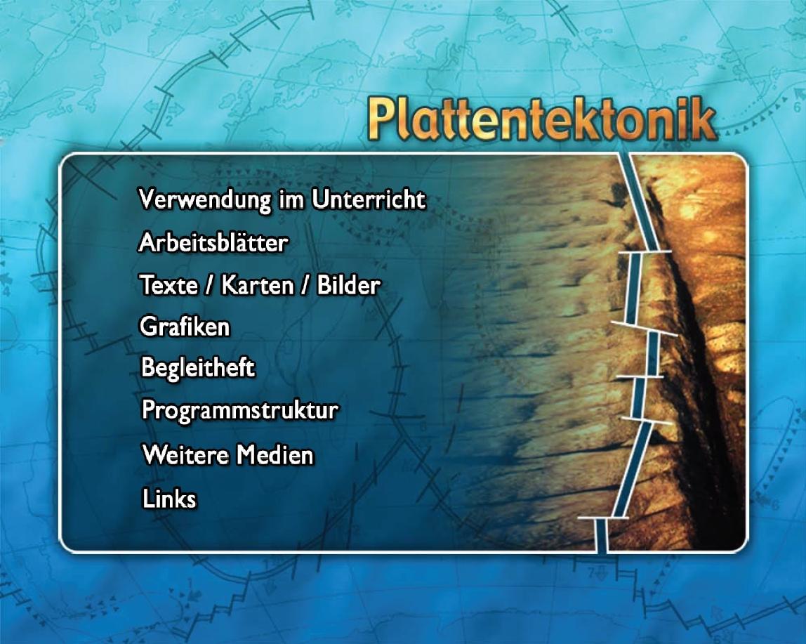 Ernst Klett Verlag - Plattentektonik / Plate Tectonics Produktdetails