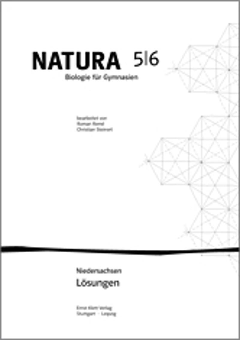 ernst klett verlag natura biologie ausgabe ab 2000 lehrwerk produkt bersicht. Black Bedroom Furniture Sets. Home Design Ideas