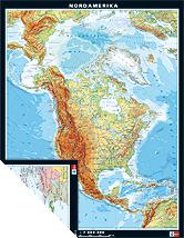Nordamerika, physisch/politisch