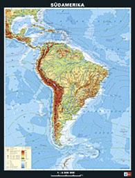 Südamerika, physisch