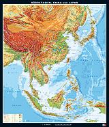 Südostasien, China und Japan, physisch
