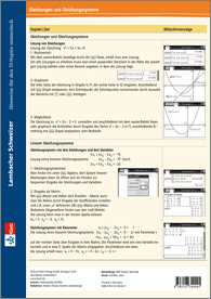 Lambacher Schweizer Mathematik 10-13