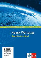 Haack Weltatlas Kopierkarten digital